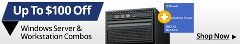 Up to $100 off Windows Server & Workstation Combos
