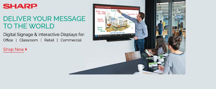 Digital Signage & Interactive Displays