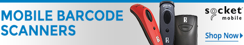 Socket Mobile Series 7 and 8 Barcode Scanners