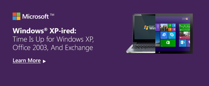 Windows XP Support Has Ended, Time To Upgrade
