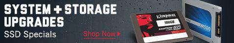 System & Storage Upgrades SSD Specials