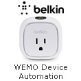 WEMO DEVICE AUTOMATION