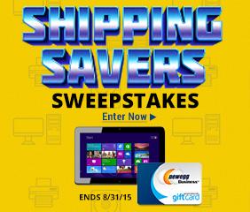 Shipping Saver Sweepstakes