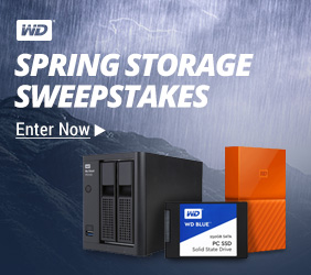 Western Digital Sweepstakes