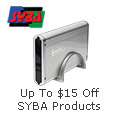 Up to $15 off SYBA products