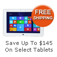Save Up To $145 On Select Tablets