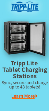 Tripp Lite Tablet Charging Stations