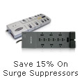 Save 15% On Surge Suppressors