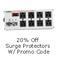 20% off Select Surge Protectors with Promo Code