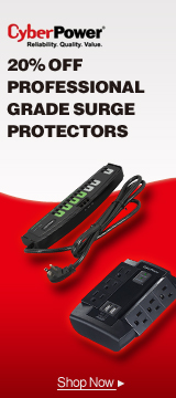 CyberPower Surge Protection 20% Off
