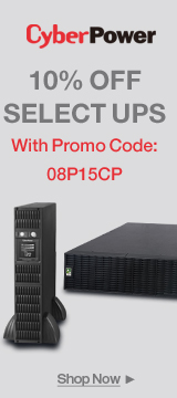 CyberPower 10% OFF SELECT UPS WITH PROMO CODE