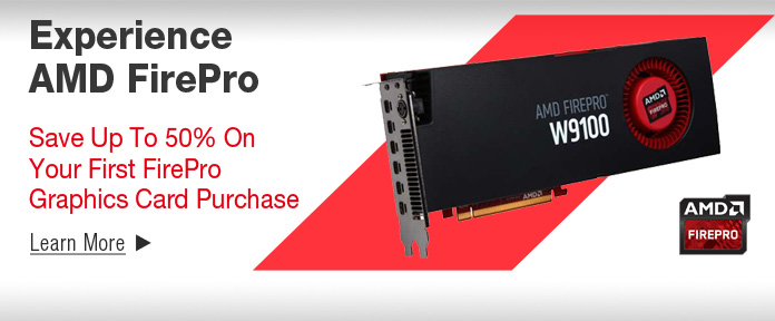 FirePro Video Cards - Save Up To 50%
