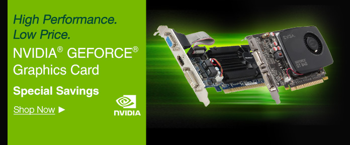 High Performance, low price, NVIDIA GEFORCE