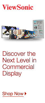 Viewsonic - Commercial Display Range
