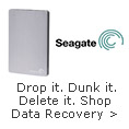 Drop it, Dunk it, Delete it,We can help you get your data back