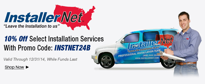 10% off Installation Services With Promo Code