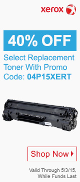 40% OFF Select Replacement Toner With promo code