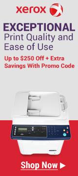 Xerox Laser Printers $250 Off