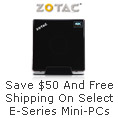 Save $50 And Free Shipping On Select E-Series Mini-PCs