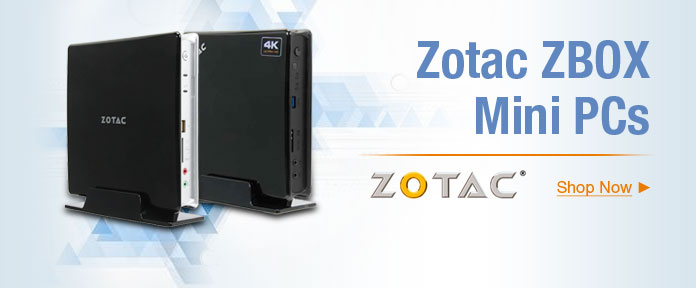 Zotac ZBOX Mini PCs