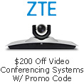 $200 off video conferencing systems with promo code