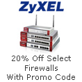 20% off select Firewalls with promo code