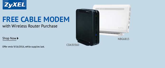 Free cable modem with wireless router purchase