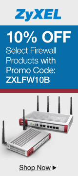10% off select firewall products with promo code